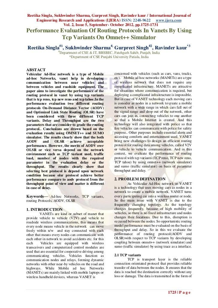 Reetika Singla, Sukhwinder Sharma, Gurpreet Singh, Ravinder kaur / International Journal of     Engineering Research and A...