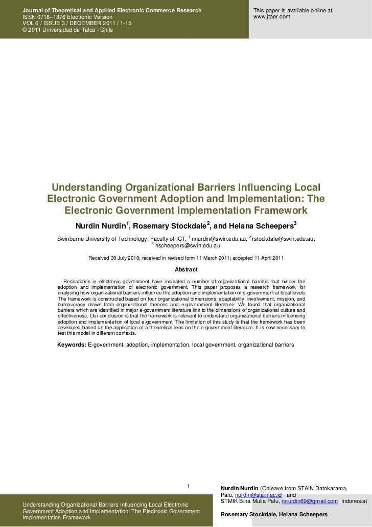 Journal of Theoretical and Applied Electronic Commerce Research                                          This paper is ava...