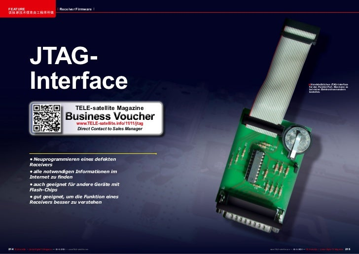 FEATURE                                              Receiver Firmware该独家技术信息由工程师所做                     JTAG-             ...