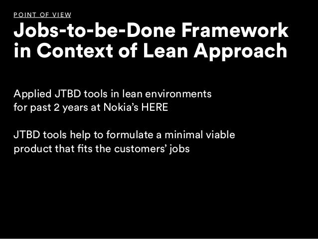 Designing products against customer jobs Slide 3