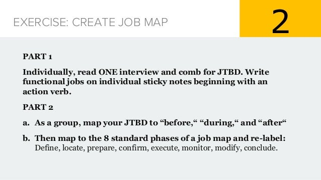 Practical Jobs To Be Done (JTBD)