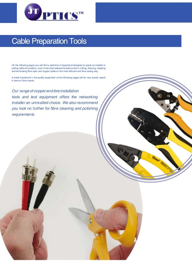 On the following pages you will find a selection of equipment designed to assist an installer in pulling cable into positi...