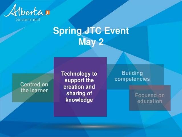 Spring JTC EventMay 2
