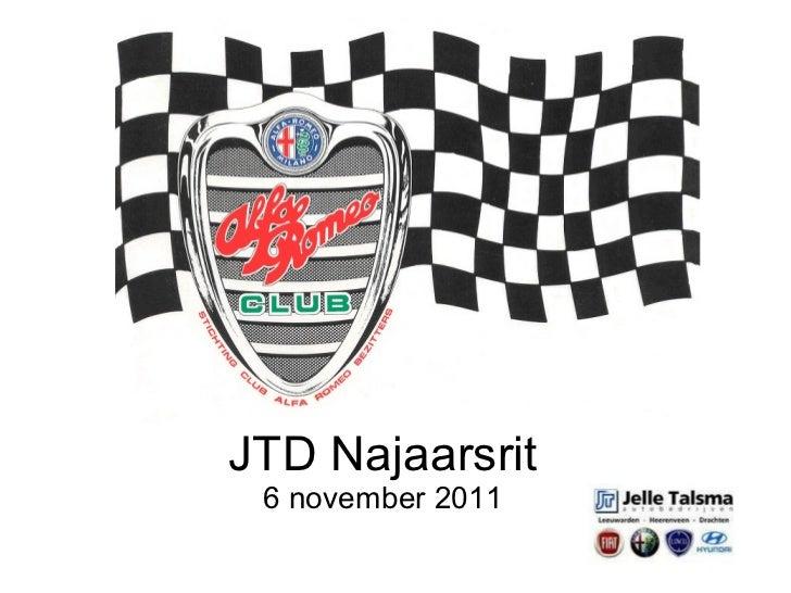 JTD Najaarsrit 6 november 2011