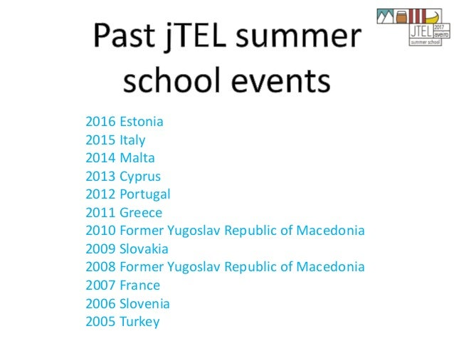 2016 Estonia 2015 Italy 2014 Malta 2013 Cyprus 2012 Portugal 2011 Greece 2010 Former Yugoslav Republic of Macedonia 2009 S...