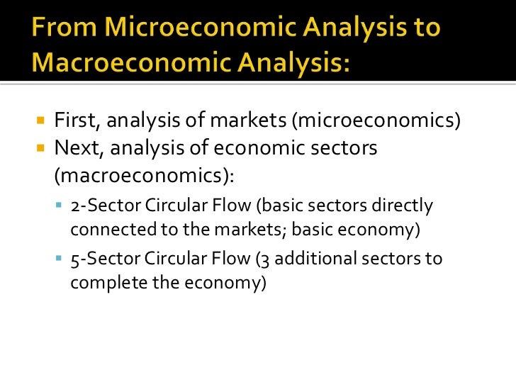 the circular flow model analysis One of the main basic models taught in economics is the circular-flow model,  which describes the flow of money and products throughout the.
