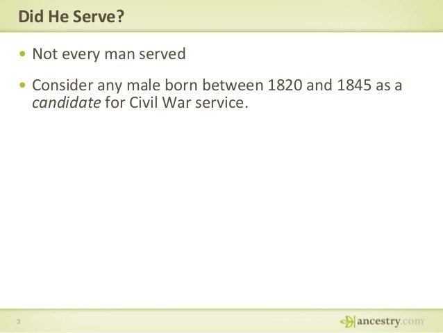 researching civil war soldiers an overview