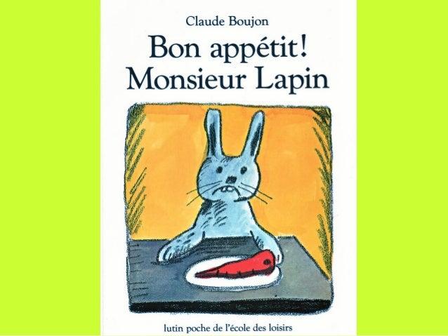 Monsieur Lapin n'aime plus les carottes.