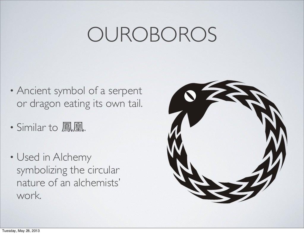 Ancient ouroboros symbol view symbol buycottarizona
