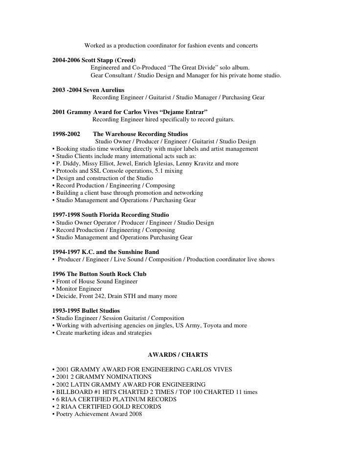 Jt Resume 2009 2