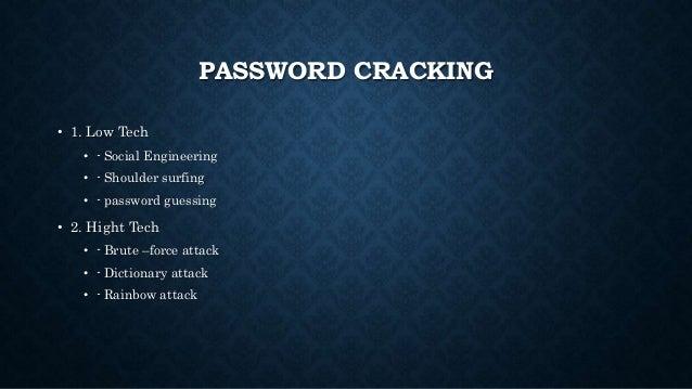 John the ripper & hydra password cracking tool