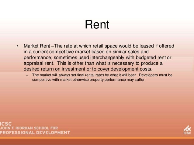Jtr school 2014 basics of leasing and specialty leasing rent market spiritdancerdesigns Gallery