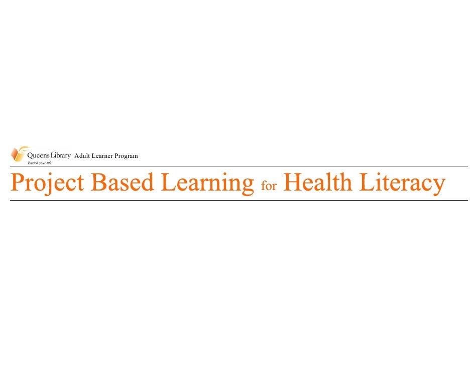 Adult Learner Program                            for