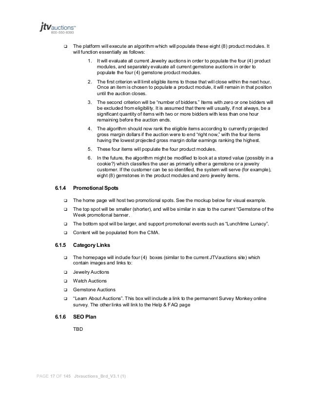 A Product Requirements Document Prd Sample