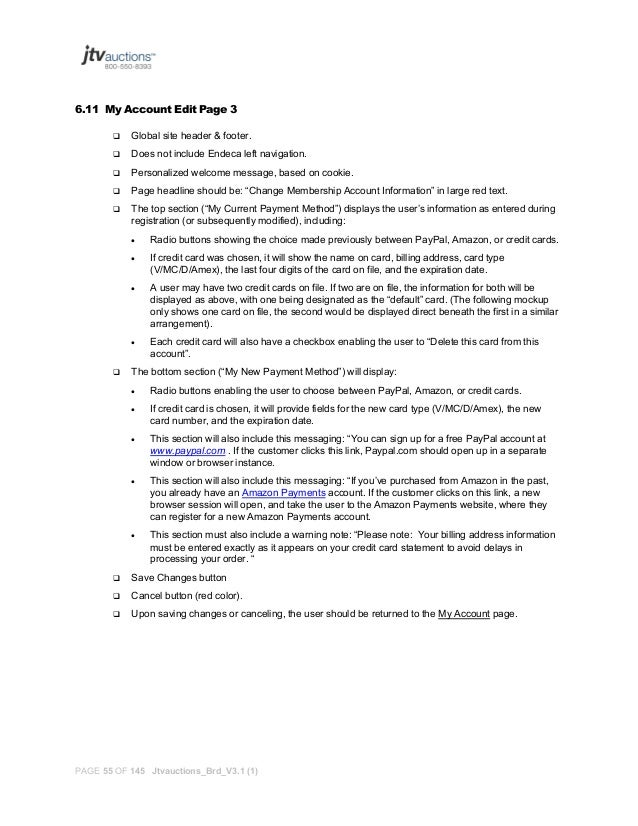 A Product Requirements Document (Prd) Sample
