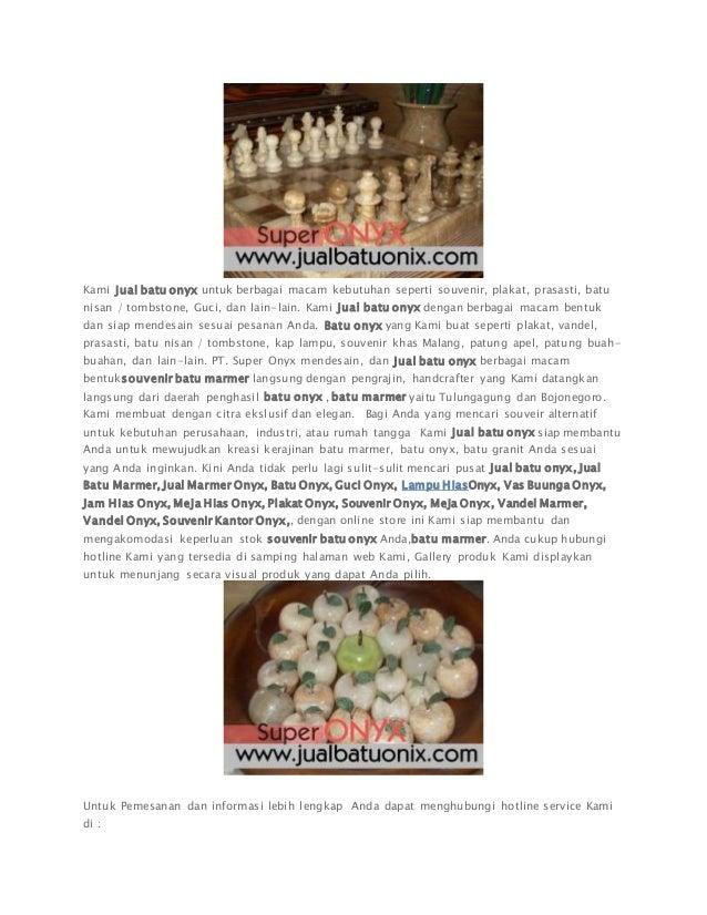 jual batu onyx souvenir batu marmer tulungagung malang surabaya jakar