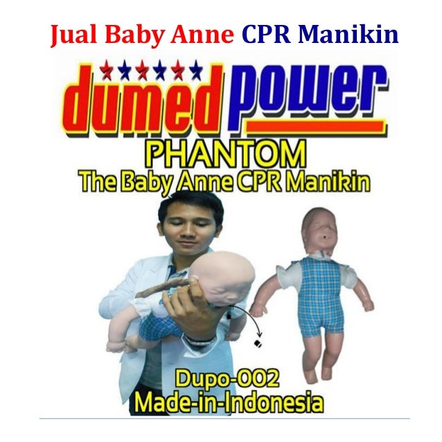 Jual Baby Anne CPR Manikin