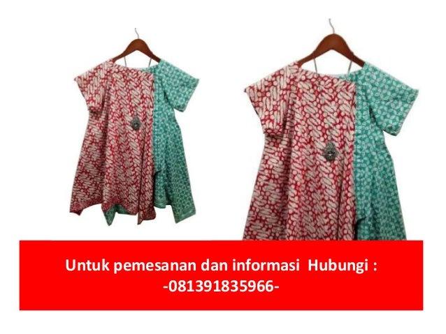 Jual baju batik atasan wanita | 081391835966 Slide 2
