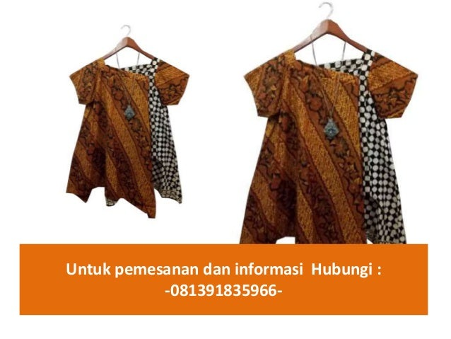 Jual baju batik atasan wanita  081391835966