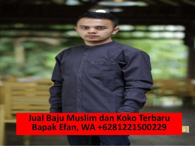 Jual Baju Muslim Pria Modern WA 6281221500229