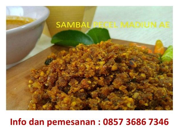 Jual bumbu pecel instan(Wage) homemade Surabaya | 0857 3686 7346 Slide 2