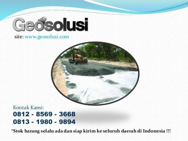 site: www.geosolusi.com Kontak Kami: 0812 - 8569 - 3668 0813 - 1980 - 9894 *Stok barang selalu ada dan siap kirim ke selur...