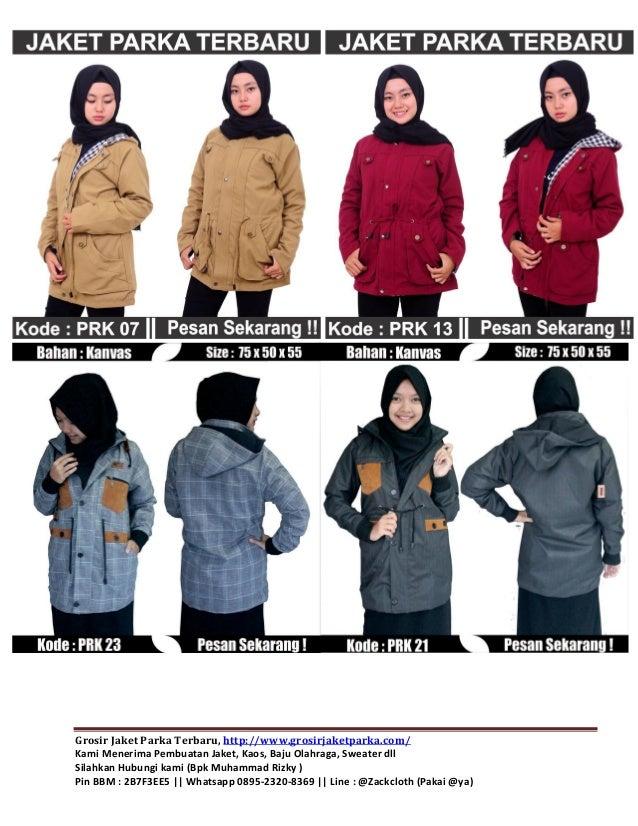 58 Model Jaket Parka Bandung HD Terbaru