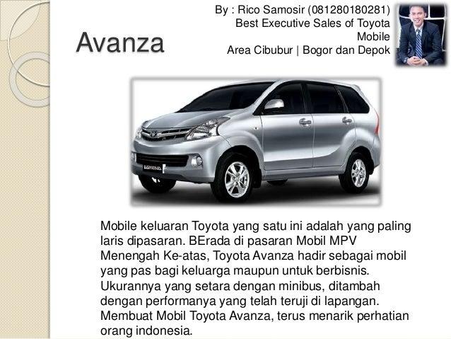 Jual Mobil Toyota Di Cibubur Bogor Depok Slide 3