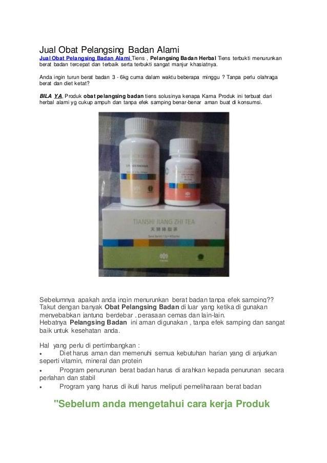 Jual Obat pelangsing badan tradisional – Terbukti Ampuh Smart Detox