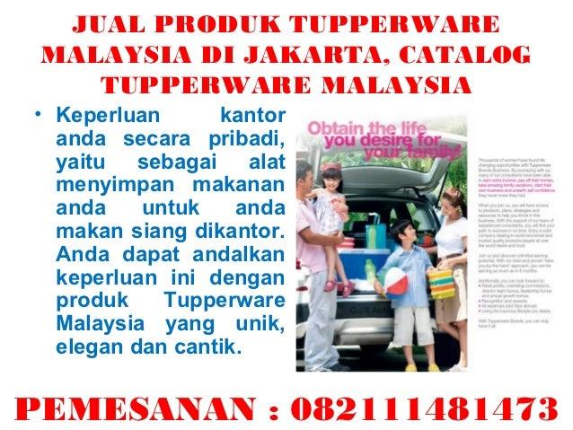 Jual produk tupperware malaysia di jakarta, catalog ...