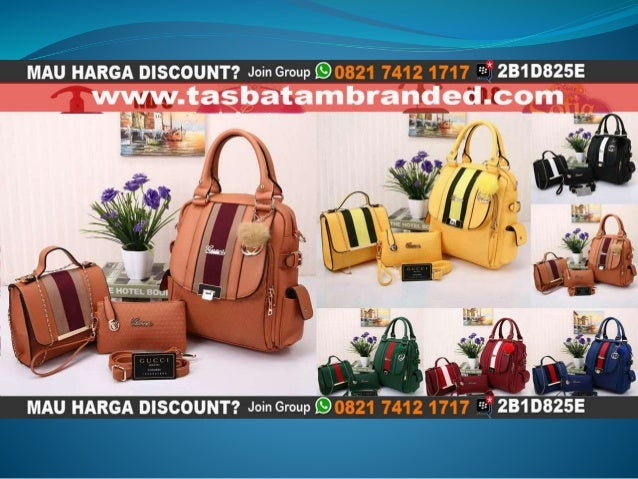 Jual Tas Ransel Wanita Branded Import Terbaru Harga Murah Semi Premium