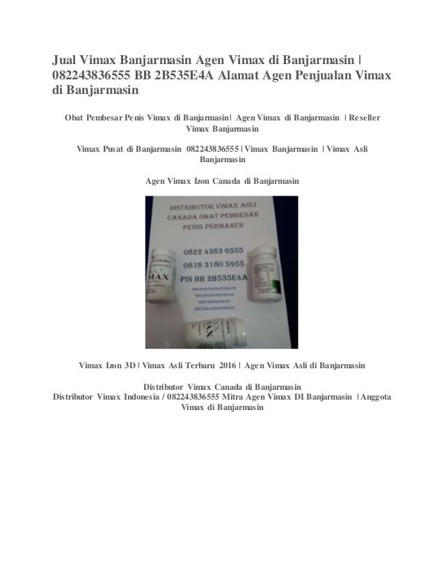 jual vimax banjarmasin pin bb 2b535e4a vimax canada di