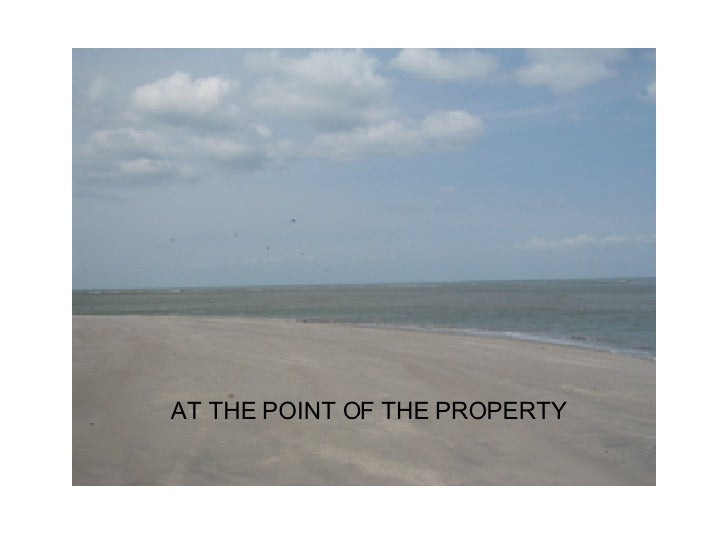 AT THE POINT OF THE PROPERTY