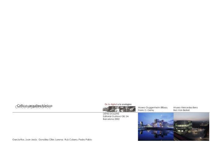 [Museo Guggenheim + Museo Mercedes]