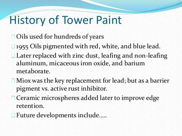 Lead White Paint Less Soluble