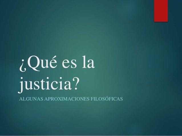 Juan Camilo Gallo  - ¿Qué es la justicia?