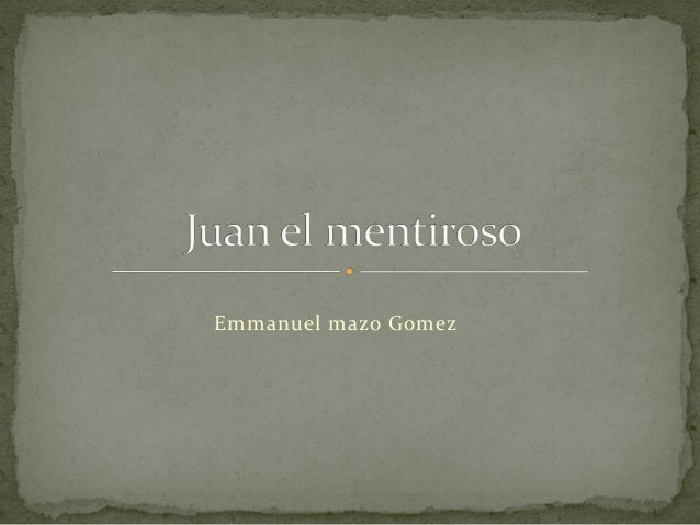 Emmanuel mazo Gomez