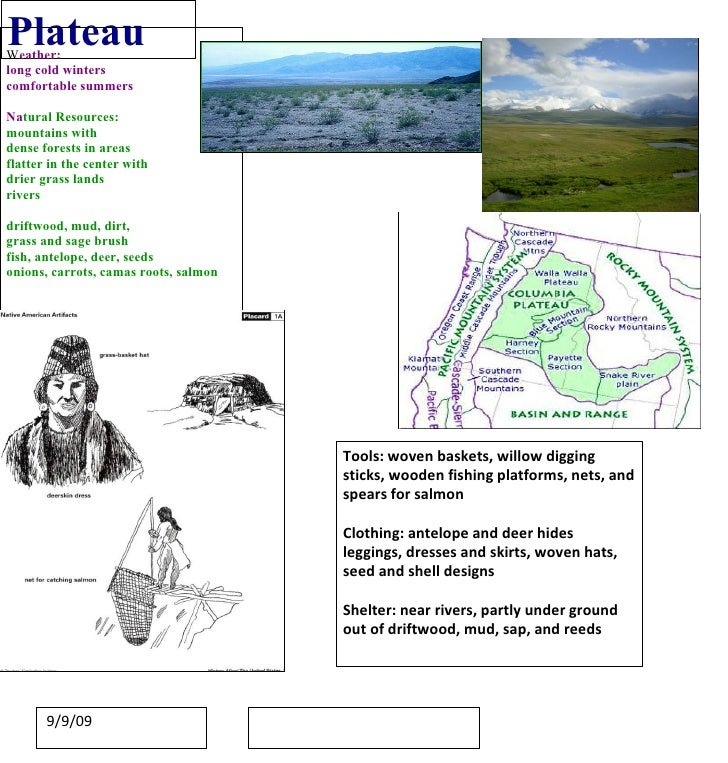 Plateau W eather: long cold winters comfortable summers  Na tural Resources: mountains with  dense forests in areas flatte...
