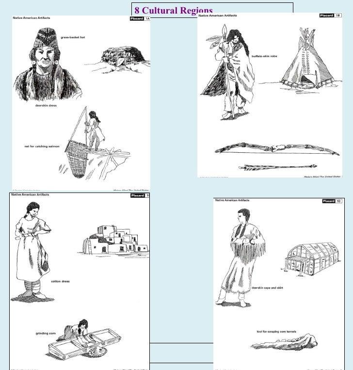 8 Cultural Regions