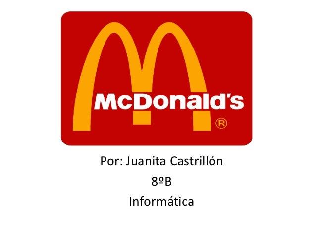 Por: Juanita Castrillón          8ºB      Informática
