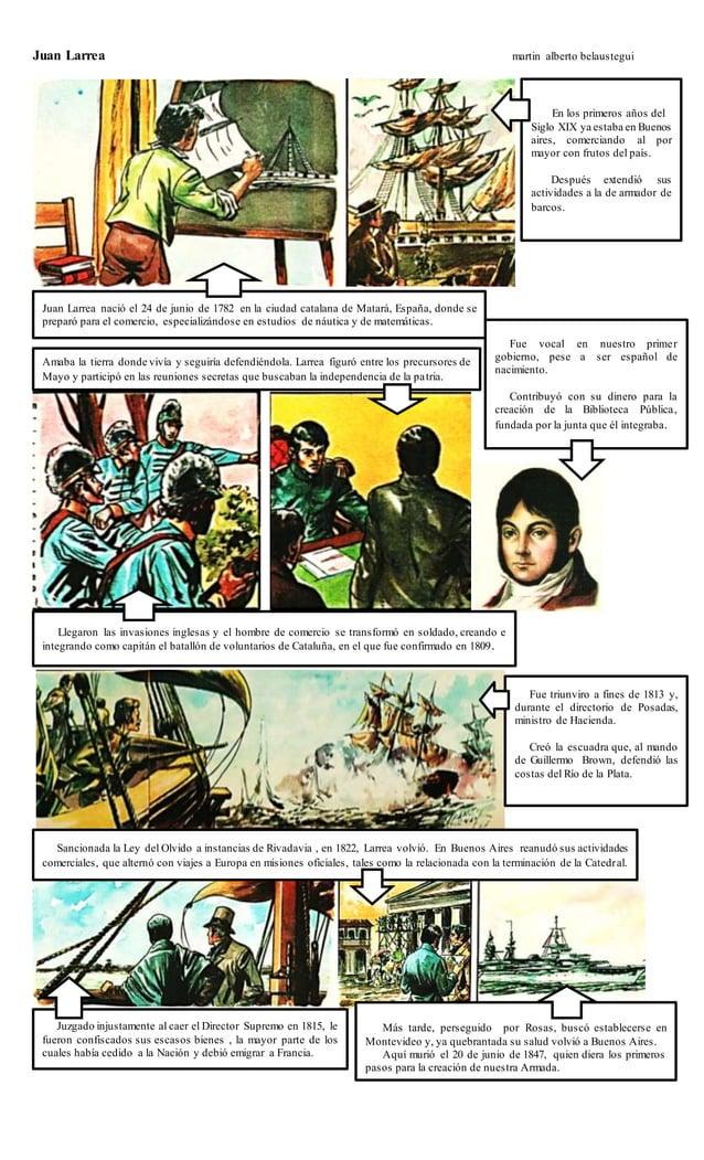 Juan Larrea martin alberto belaustegui Juan Larrea nació el 24 de junio de 1782 en la ciudad catalana de Matará, España, d...