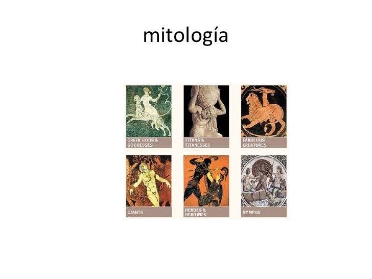 mitología<br />