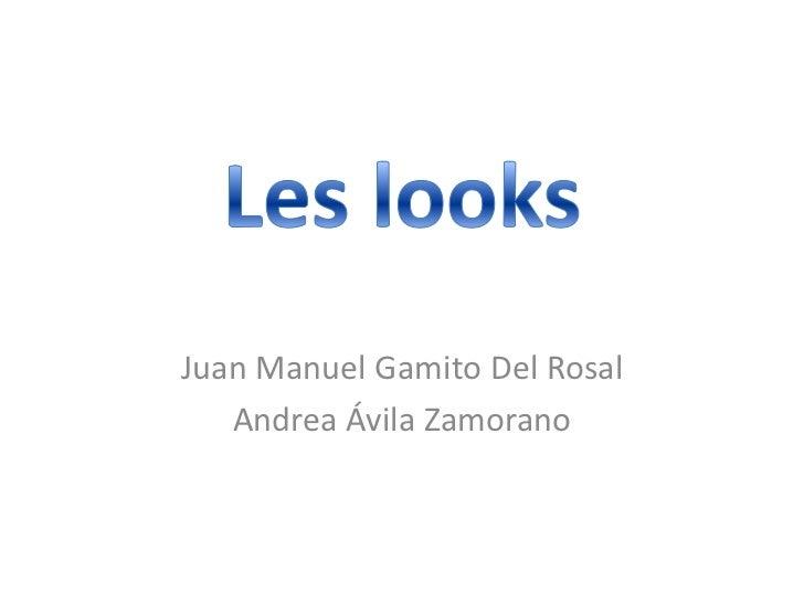 Juan Manuel Gamito Del Rosal   Andrea Ávila Zamorano