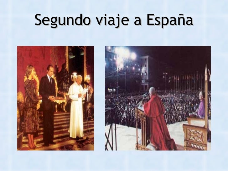 Juan pablo ii presentacion for Cuarto viaje de pablo