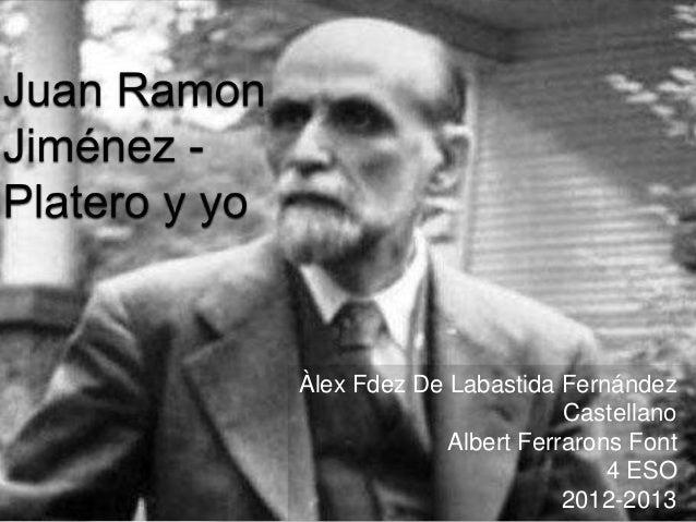 Àlex Fdez De Labastida Fernández                        Castellano             Albert Ferrarons Font                      ...
