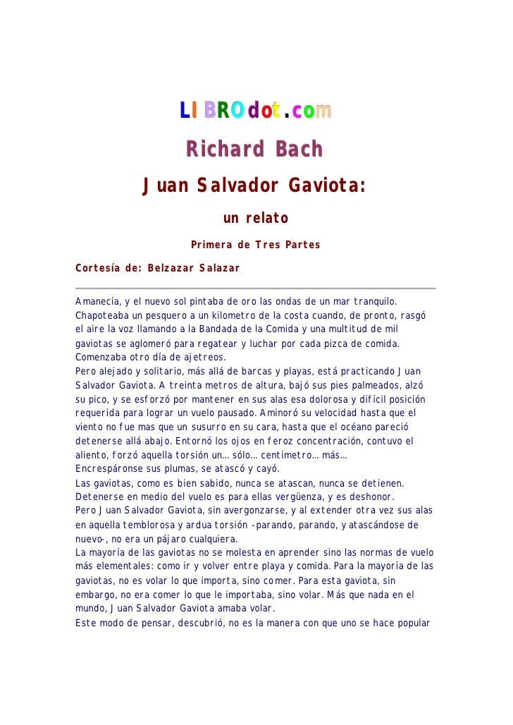 LI BROdot.com                        R icha rd Ba ch              Juan Salvador Gaviota:                                un...