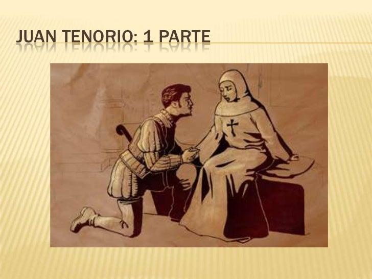 JUAN TENORIO: 1 PARTE