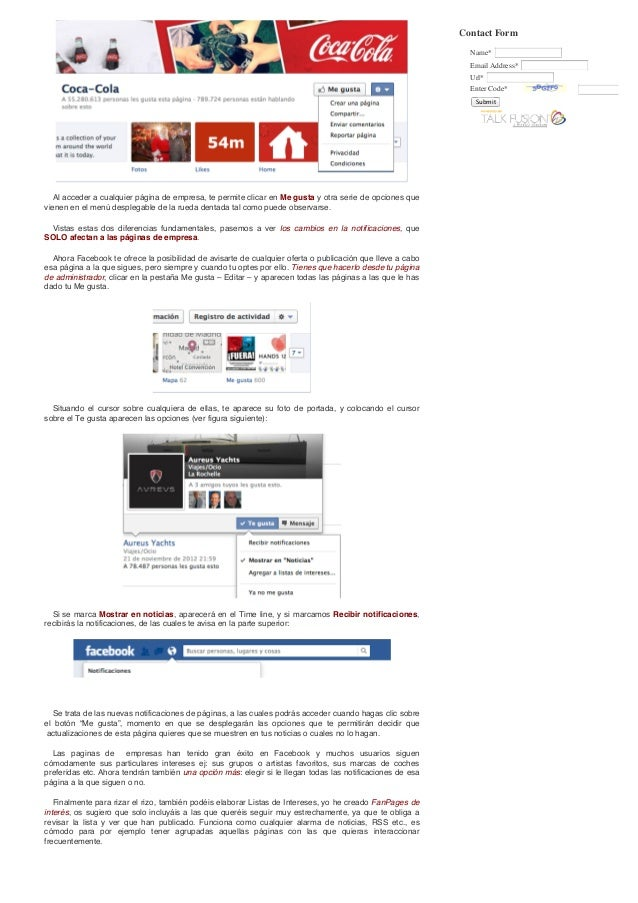 Juan urrios » cambios en facebook – tutorial Slide 3