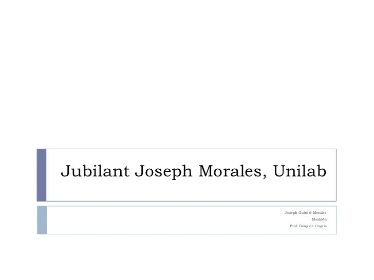 Jubilant Joseph Morales, Unilab<br />Joseph Gabriel Morales<br />MarkMa<br />Prof. Bong de Ungria<br />