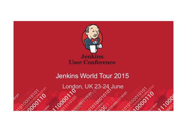Jenkins World Tour 2015 London, UK 23-24 June